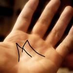 手相の形「M」